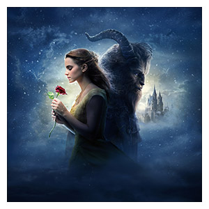 Beauty and the Beast. Размер: 50 х 50 см
